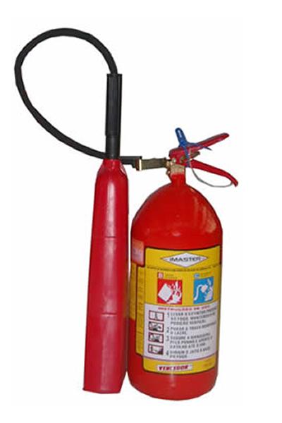 Extintor CO2 4 kg