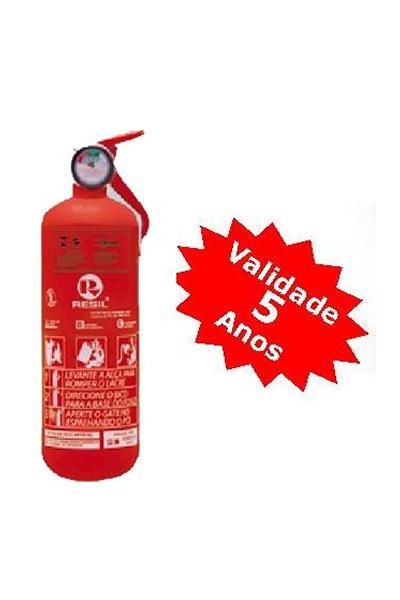 Extintor PQS 1 kg ABC