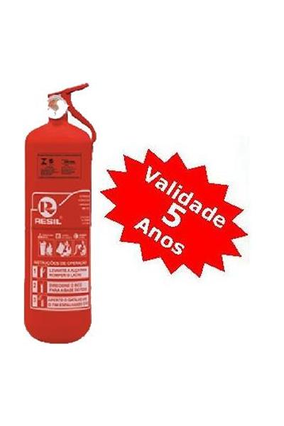 Extintor PQS 2 kg ABC