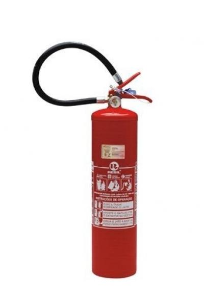 Extintor PQS 6 kg ABC