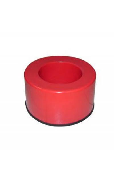 Suporte em Aluminio pintado em Vermelho